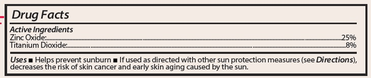 Luminess SPF active Ingredients