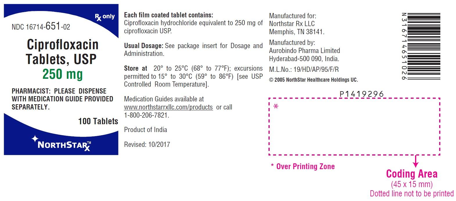 PACKAGE LABEL-PRINCIPAL DISPLAY PANEL - 250 mg (100 Tablets Bottle)