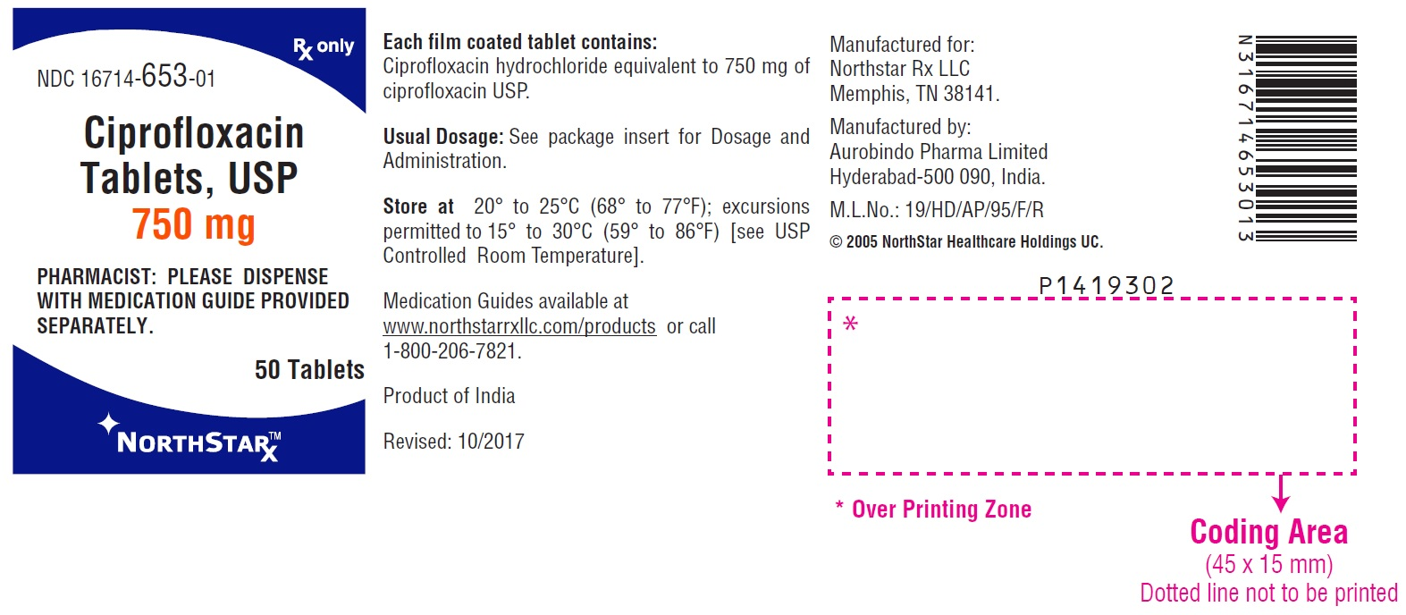 PACKAGE LABEL-PRINCIPAL DISPLAY PANEL - 750 mg (50 Tablets Bottle)