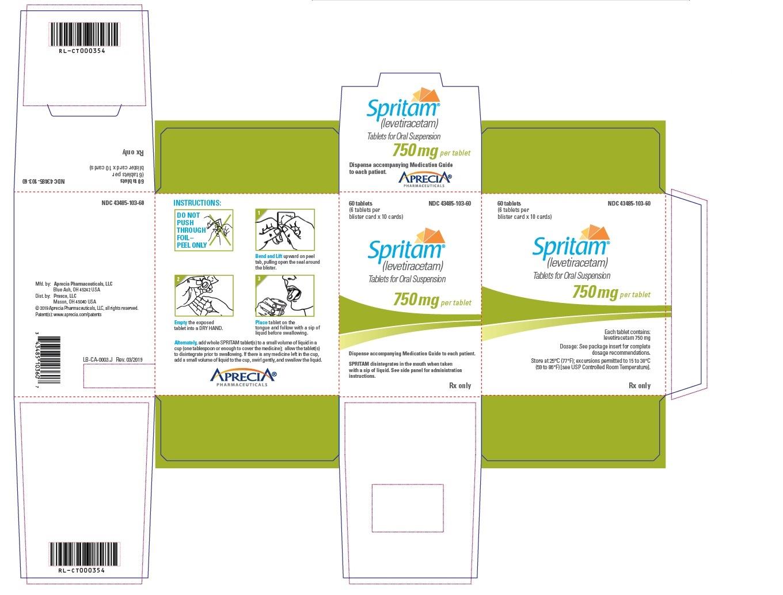 750 mg Carton Label