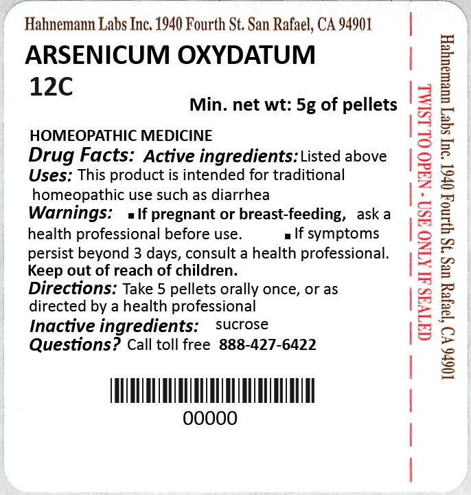 Arsenicum Oxydatum 12C 5g