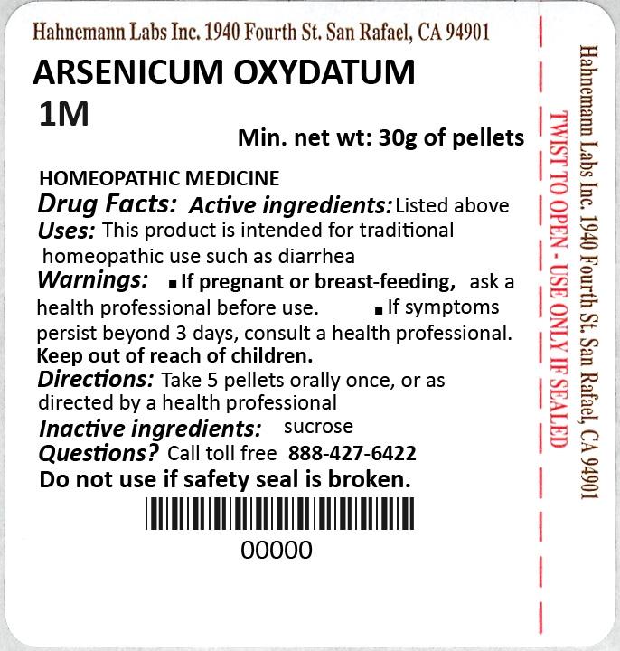 Arsenicum Oxydatum 1M 30g