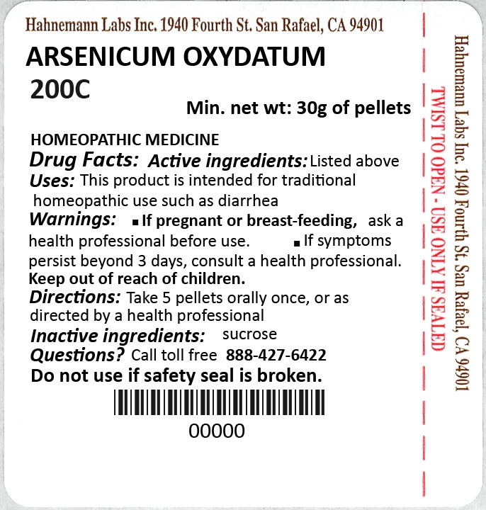 Arsenicum Oxydatum 200C 30g