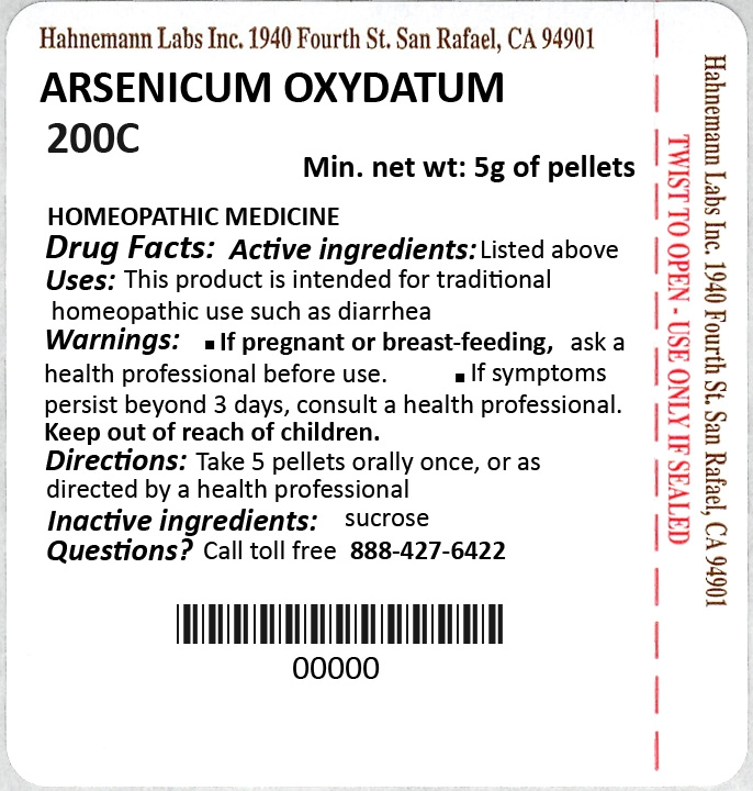 Arsenicum Oxydatum 200C 5g