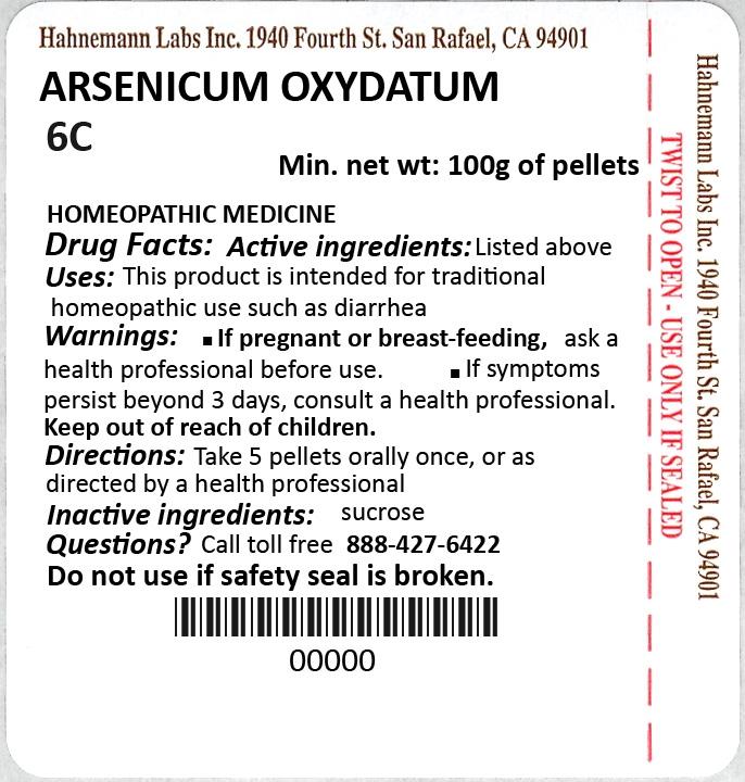 Arsenicum Oxydatum 6C 100g
