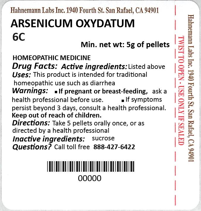 Arsenicum Oxydatum 6C 5g