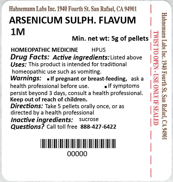 Arsenicum Sulphuratum Flavum 1M 5g