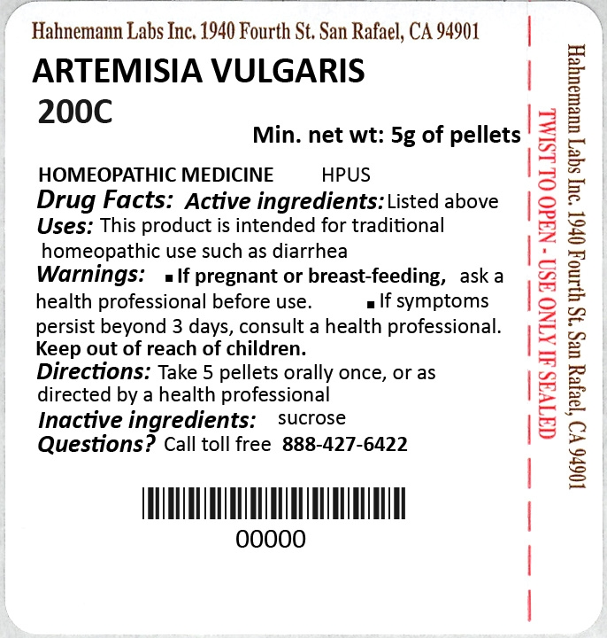Artemisia Vulgaris 200C 5g