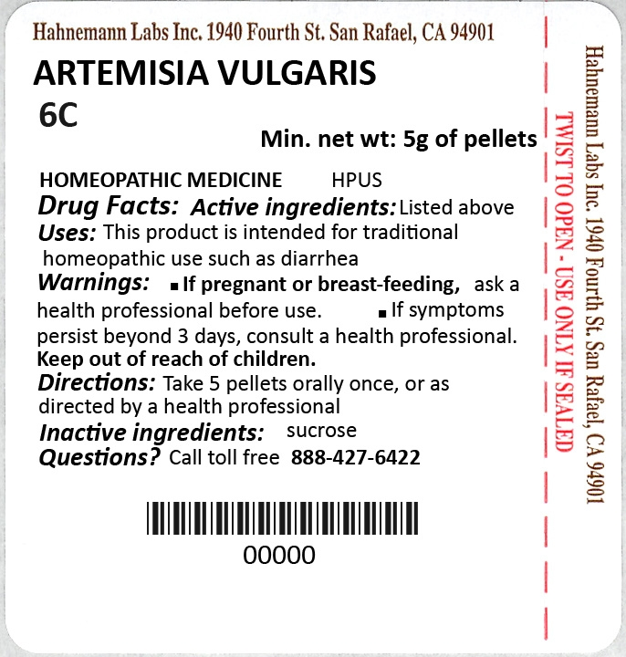 Artemisia Vulgaris 6C 5g