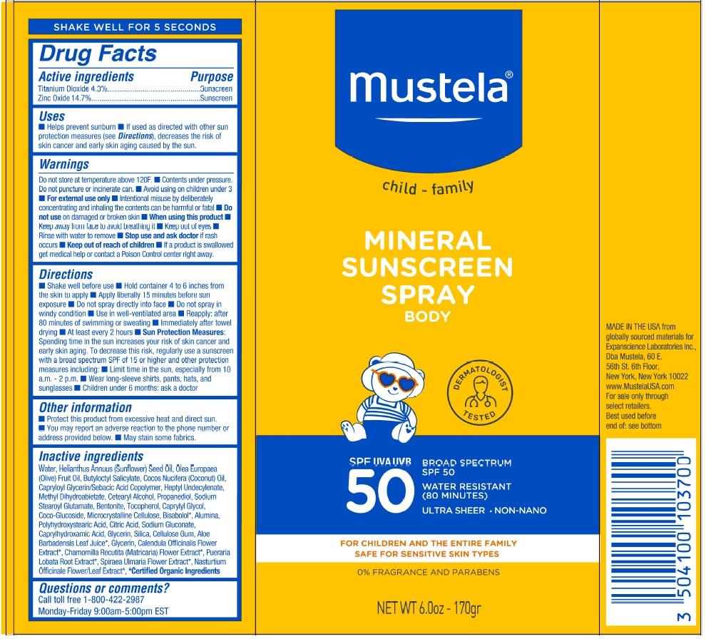 mustela mineral spf50