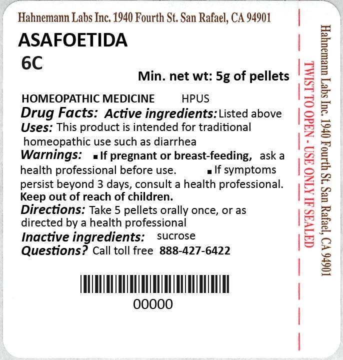 Asafoetida 6C 5g