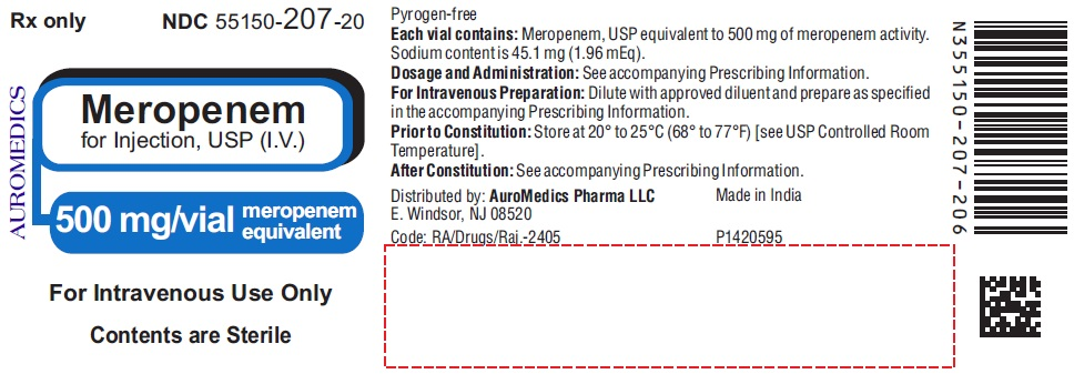 PACKAGE LABEL-PRINCIPAL DISPLAY PANEL - 500 mg/vial - Container Label