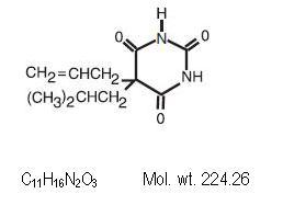 butalbitol-molec-struc