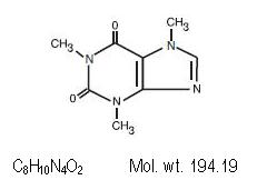 caffeine-molec-struc