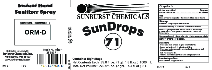 Case Label - 8 x 1000 mL Bags