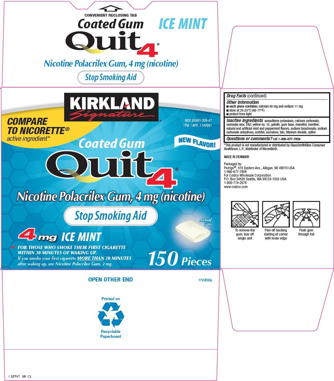 kirkland signature quit 4