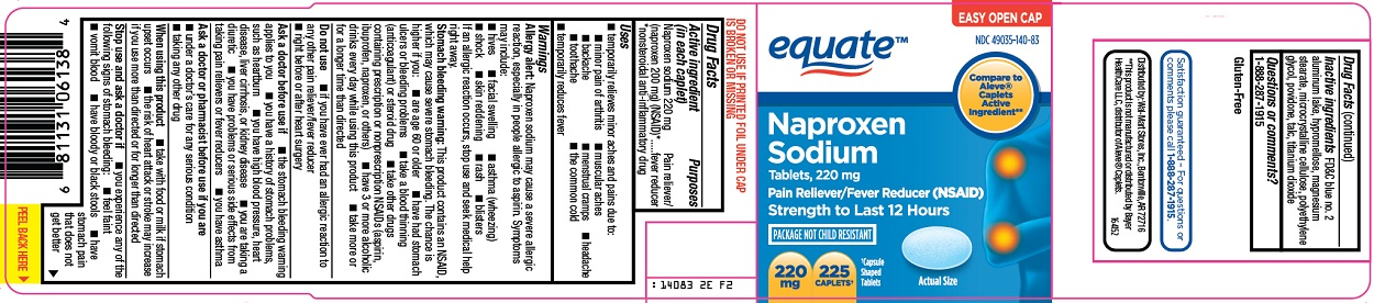 Equate Naproxen Sodium Image 1