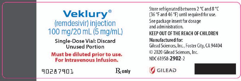 PRINCIPAL DISPLAY PANEL - 100 mg/20 mL Vial Label