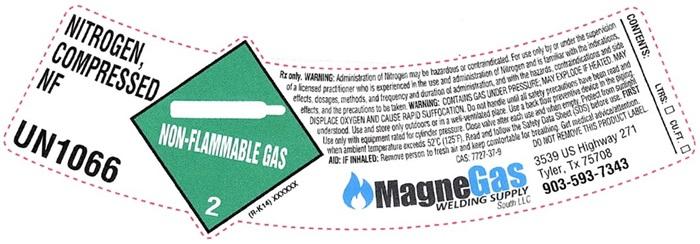 Nitrogen Shoulder Label