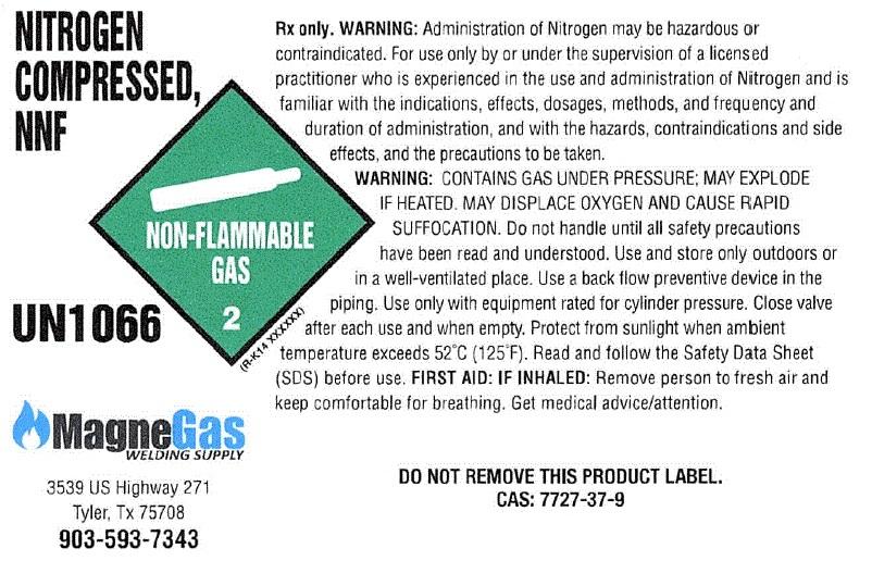 Nitrogen Sidewall Label