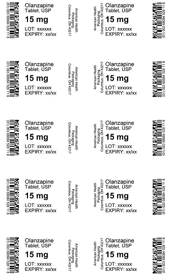 15 mg Olanzapine Tablet Blister