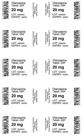 20 mg Olanzapine Tablet Blister