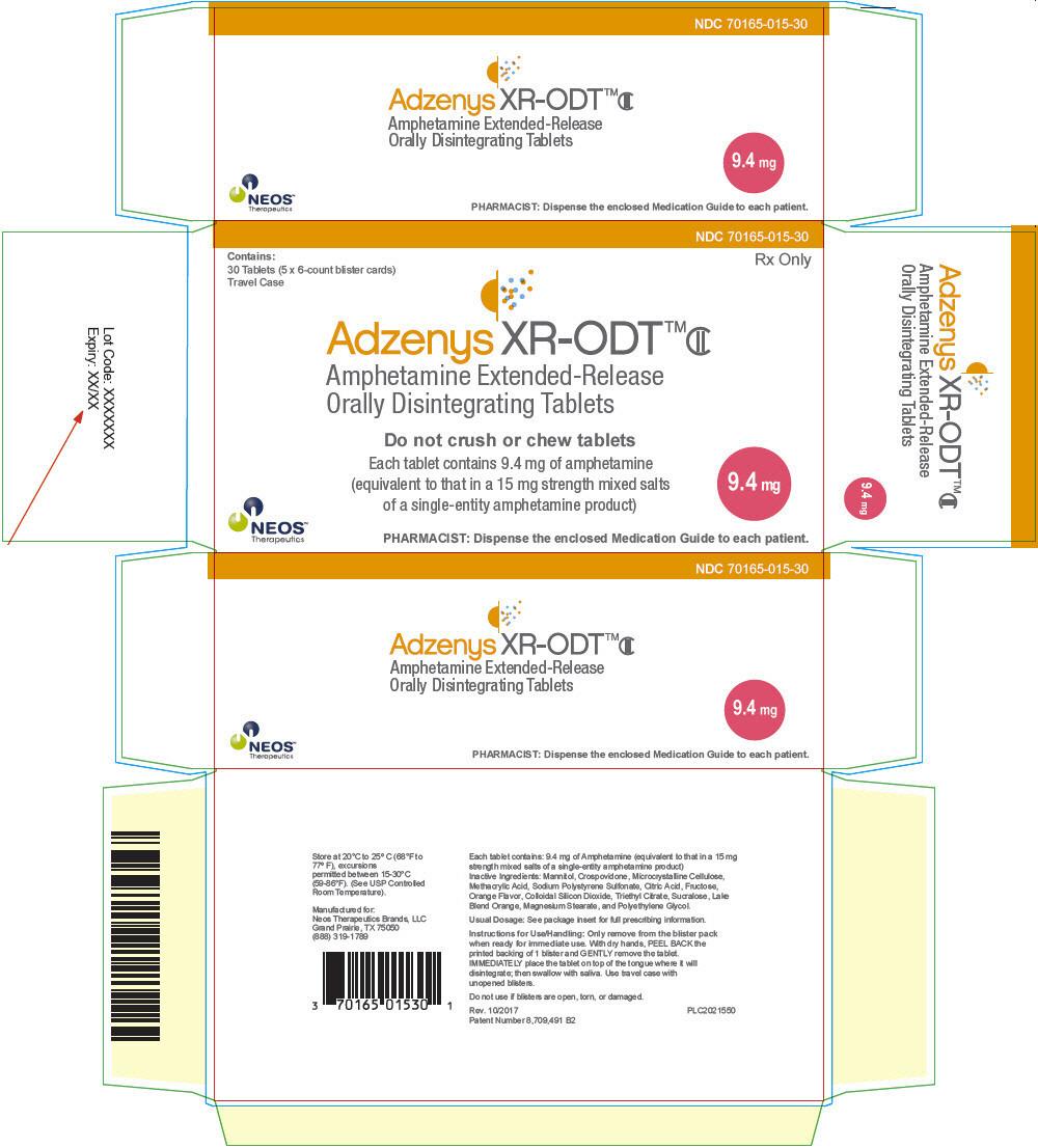 PRINCIPAL DISPLAY PANEL - 9.4 mg Tablet Blister Pack Carton