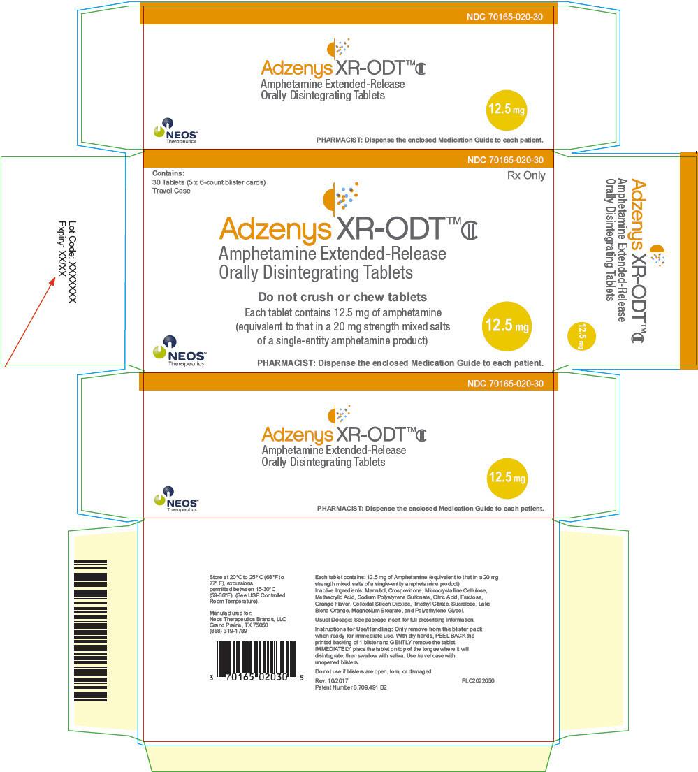 PRINCIPAL DISPLAY PANEL - 12.5 mg Tablet Blister Pack Carton