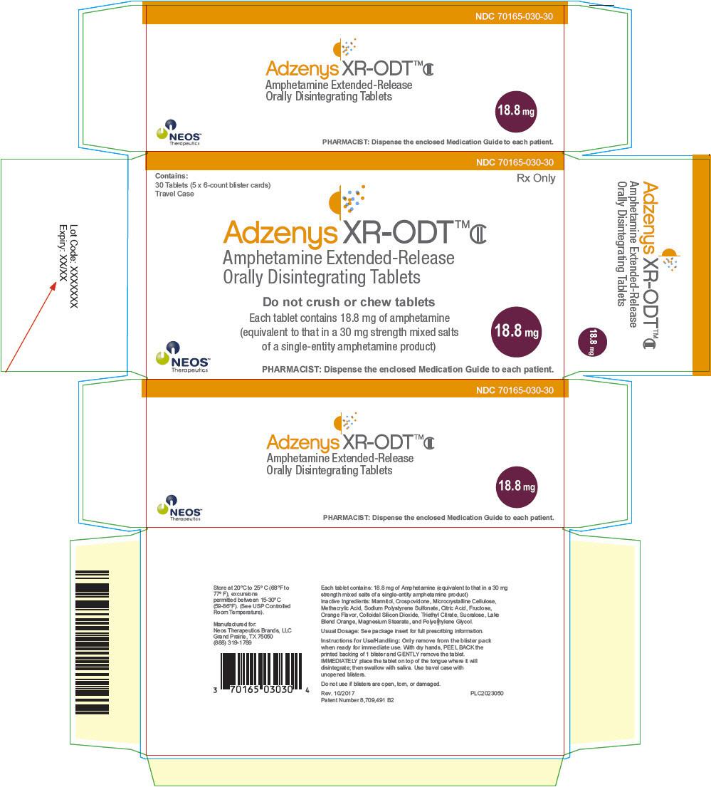 PRINCIPAL DISPLAY PANEL - 18.8 mg Tablet Blister Pack Carton