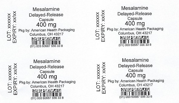 400 mg Mesalamine Delayed-Release Capsule Blister