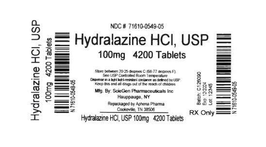 Bottle Label 100 mg