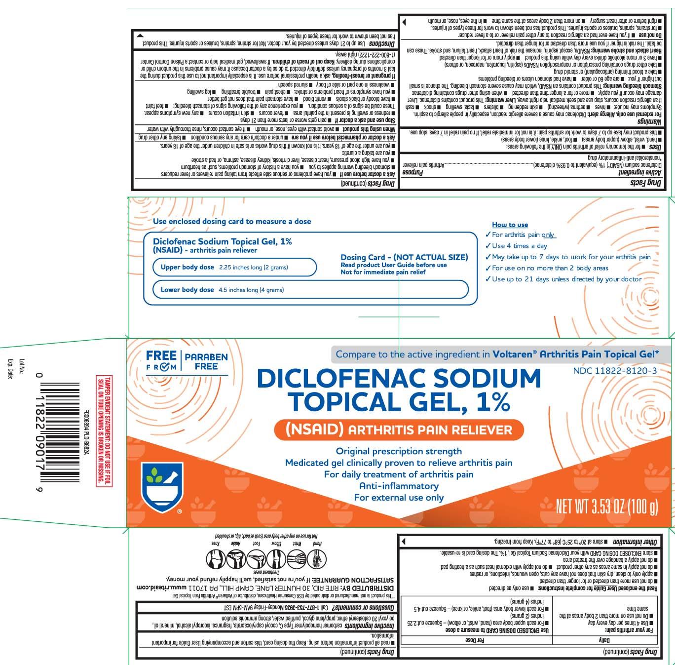 Diclofenac sodium (NSAID*) 1% (equivalent to 0.93% diclofenac) *nonsteroidal anti-inflammatory drug