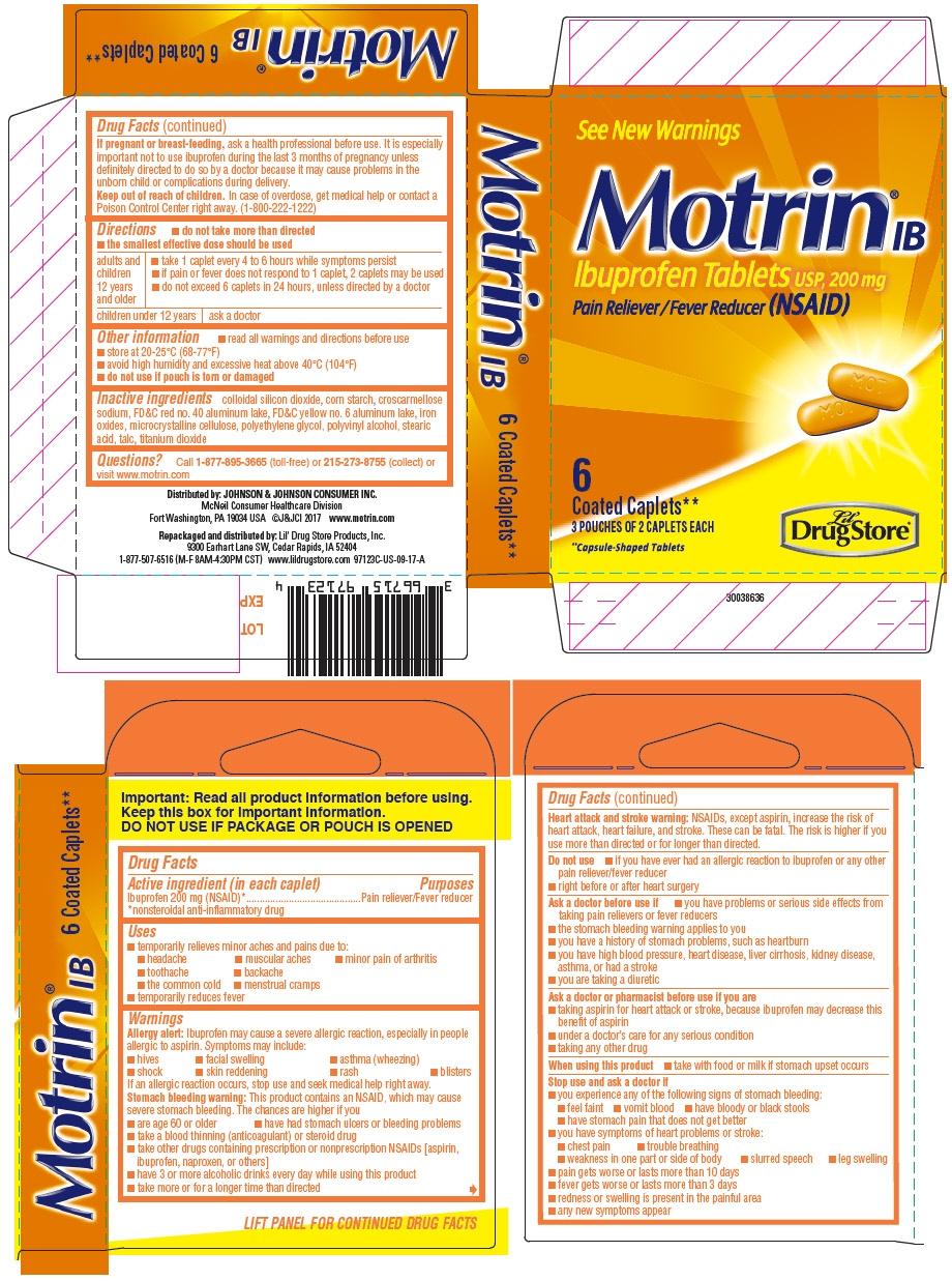 PRINCIPAL DISPLAY PANEL - 200 mg Tablet Pouch Carton