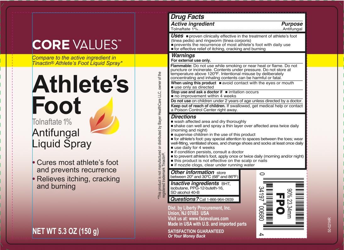 Harmon Athletes Foot Tolnaftate Liquid Spray