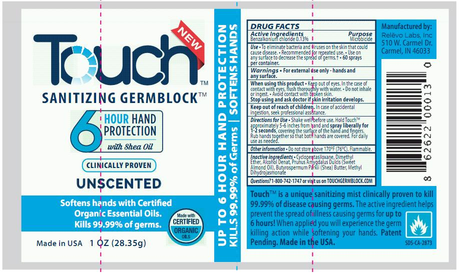 Touch Unscented Label