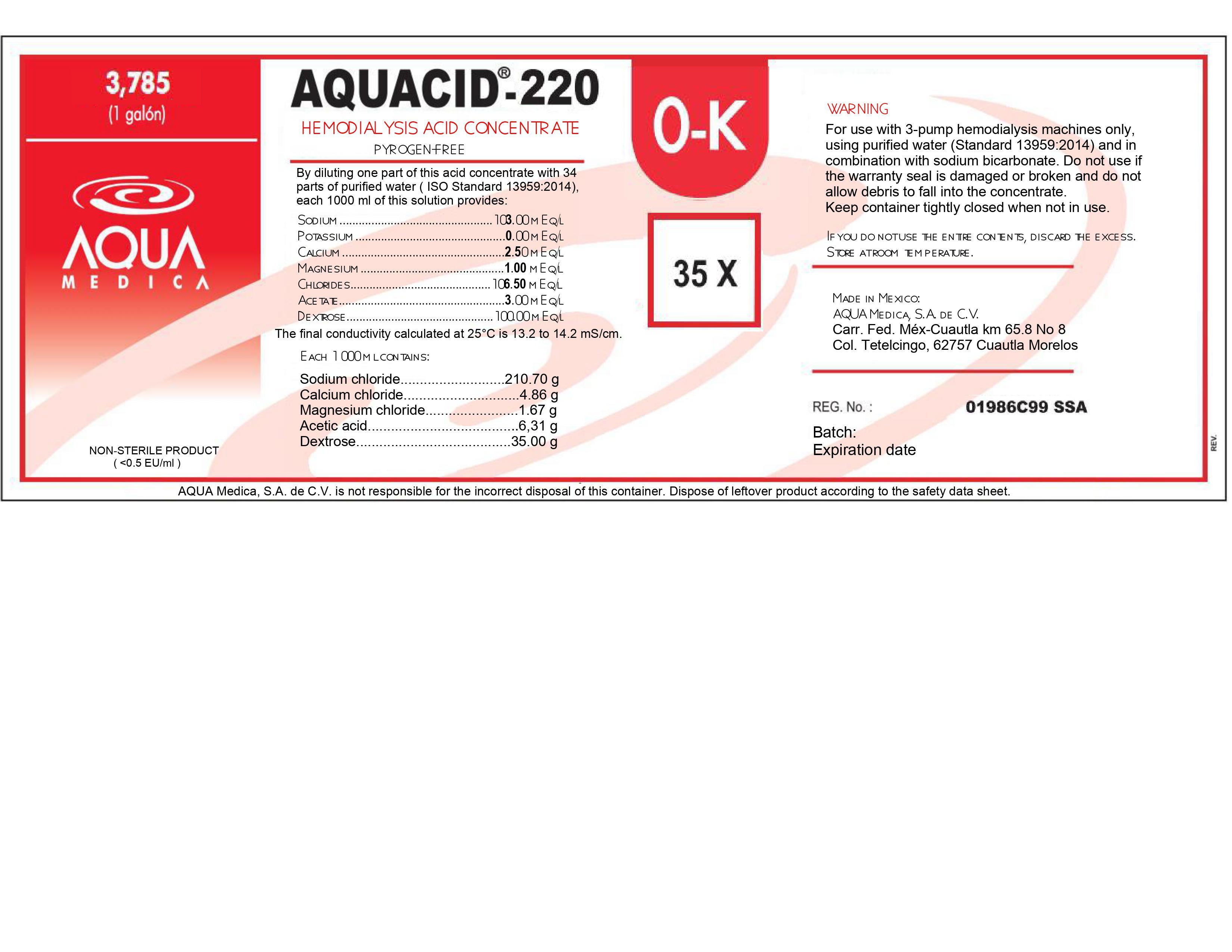 3785 mL Label