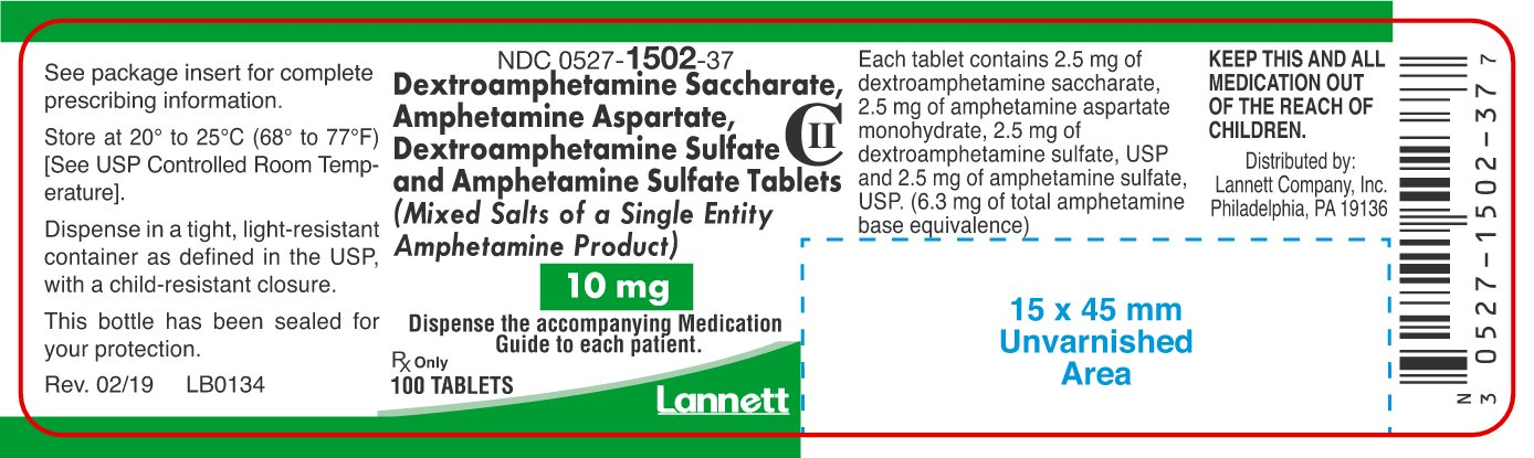 10 mg Container Label 100 ct.