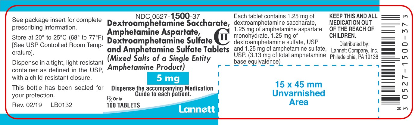 5mg Container Label 100ct