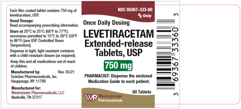 PRINCIPAL DISPLAY PANEL - 750 mg Tablet Bottle Label