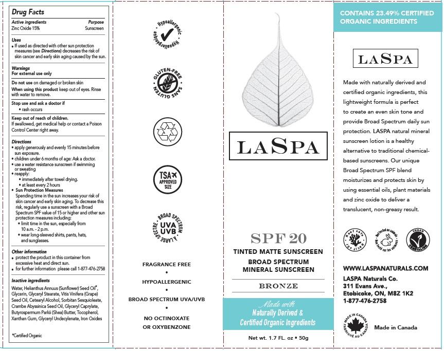 laspa bronze