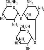 structural formula tobramycin sulfate