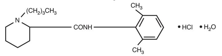 Marcaine Structure