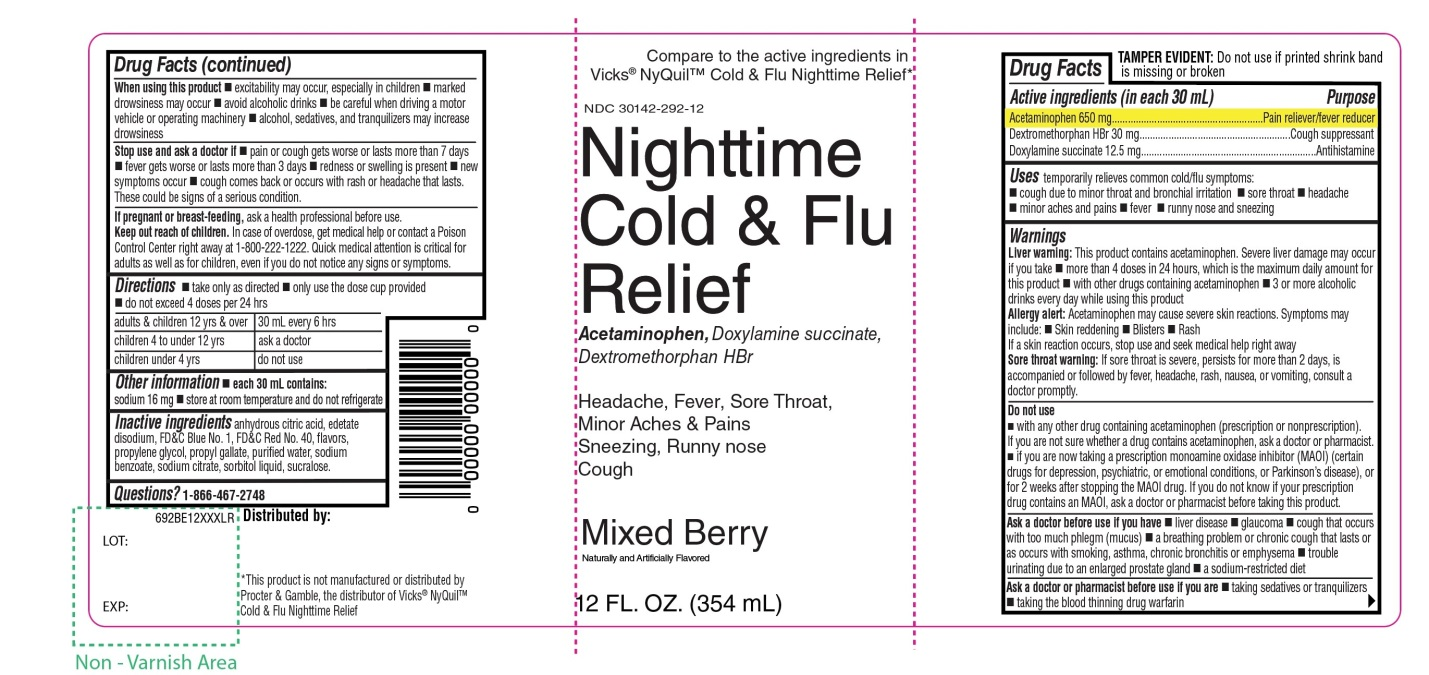 Kroger Nighttime Cold and Flu Relief
