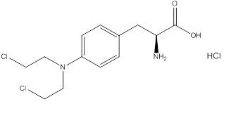 melphalan structure