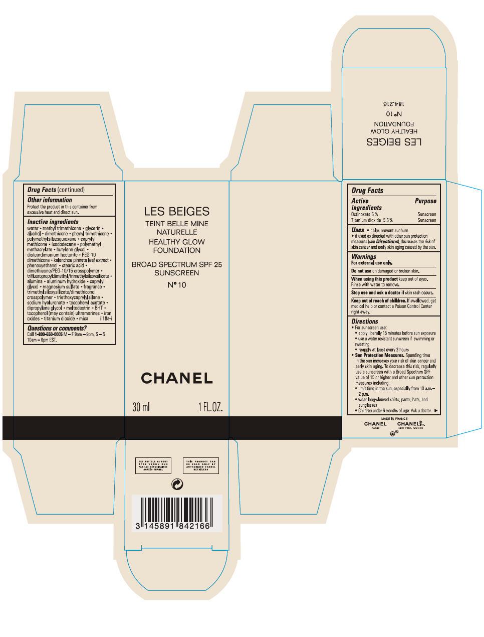 Principal Display Panel - 30 mL Bottle Carton - No 10