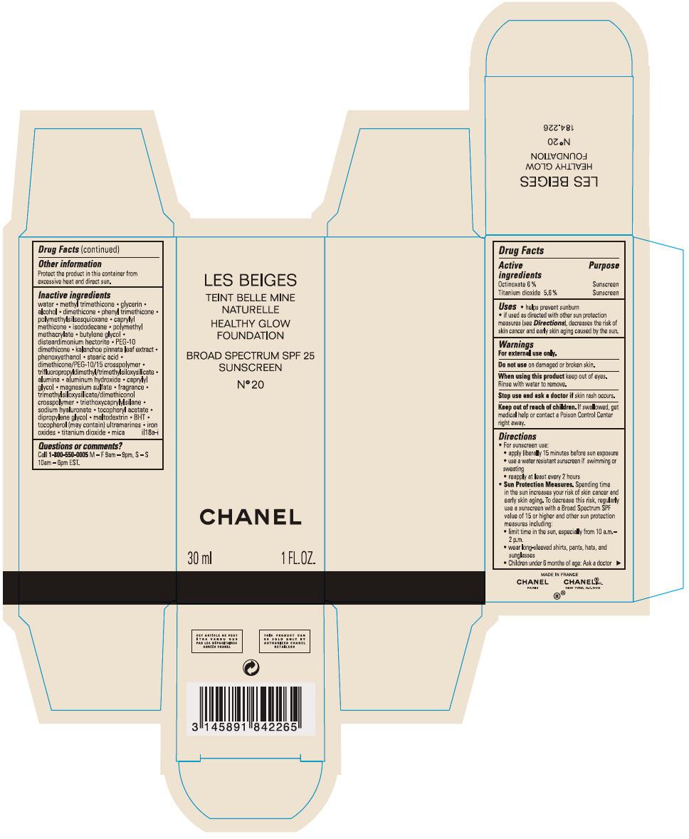 Principal Display Panel - 30 mL Bottle Carton - No 20