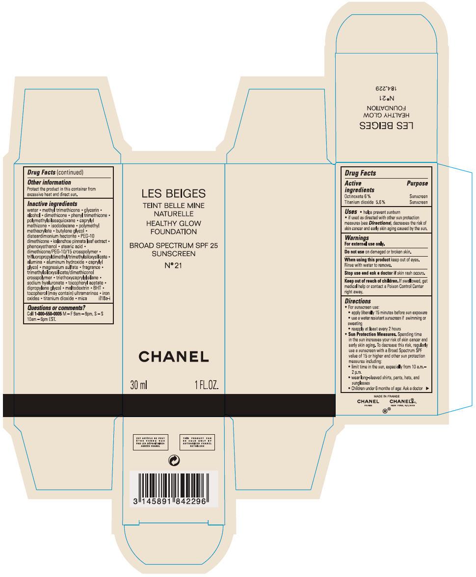 Principal Display Panel - 30 mL Bottle Carton - No 21