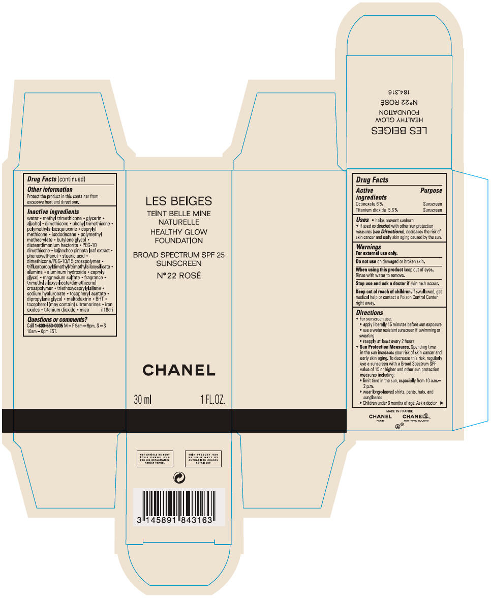 Principal Display Panel - 30 mL Bottle Carton - No 22 ROSÉ