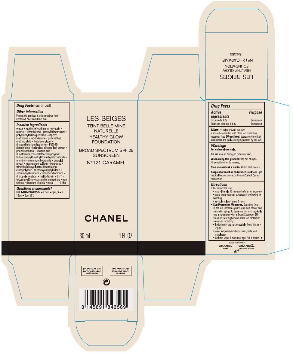 Principal Display Panel - 30 mL Bottle Carton - No 121 CARAMEL