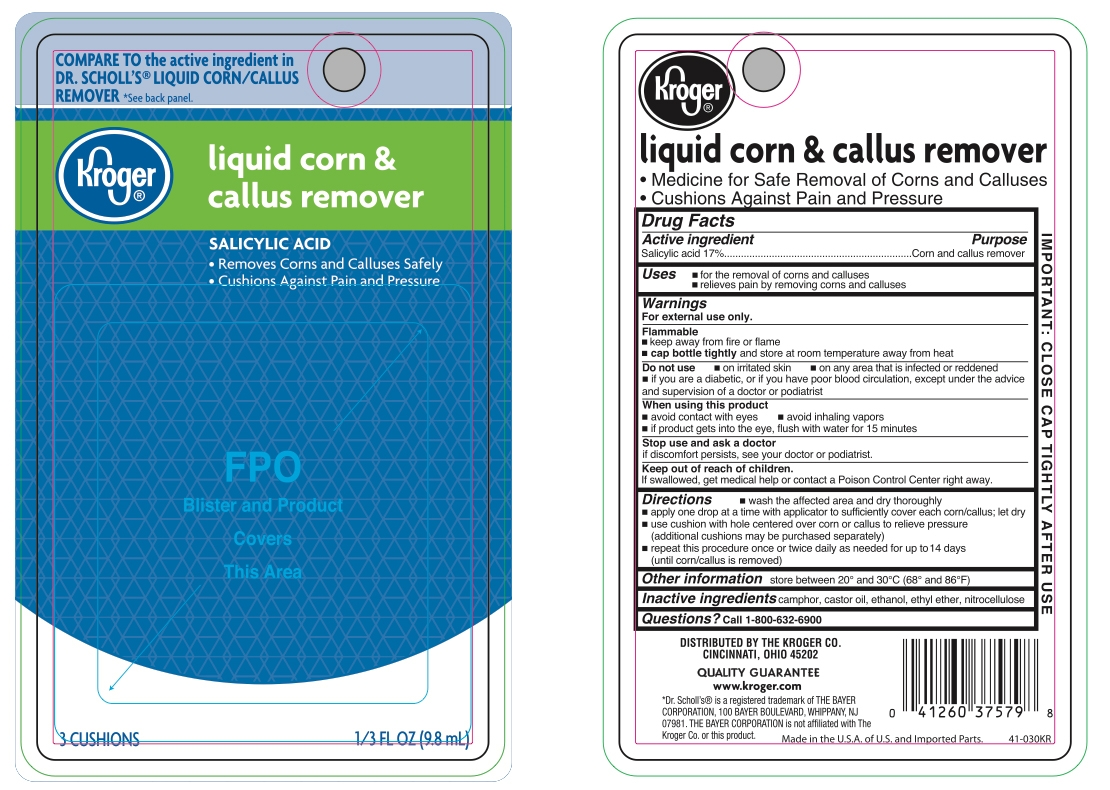 Kroger_Liquid Corn and Callus Remover_41-030KR